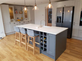 Kitchen fitter and Bathroom fitter and House refurbishment