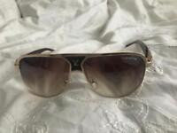 Louis Vuitton Gold Sunglasses Unisex