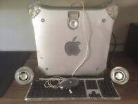 Apple Power PC G4 with accessories + Collectable H&K Speakers.