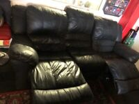 Sofa 3 Seater Manual Recliner from DFS