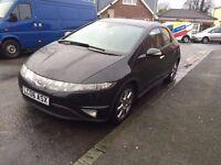 Honda Civic 1.8 EX 2006 Sat Nav 12 Months Mot***low Miles***