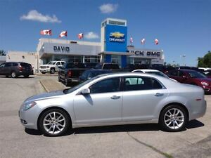2010 Chevrolet Malibu LTZ, LOADED, LEATHER HEATED SEATS,18WHEELS