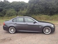 BMW 330D M SPORT DIESEL AUTOMATIC-2006 PRIVATE PLATE MOT MAY 2019- LEATHER INTERIOR