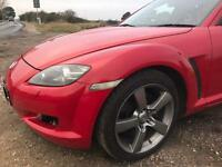 Mazda RX8 231 Half Bridge & Street Ported Engine 12 Months MOT FAST!!