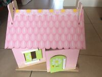 Dolls house, bluebell horse stables etc
