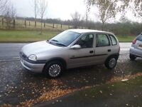 Here we have a lovely vauxhall Corsa with 6months mot