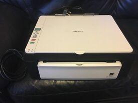 Ricoh Multifunction Laser Printer and scanner, black, plenty of toner left Aficio SP 100SU e