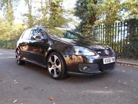 2006 VW GOLF GTI DSG S/AUTOMATIC S/HISTORY FULLY LEATHERS BLACK MET CAMBELT DONE