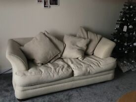 Sofa bed e/c can all be removed and washed