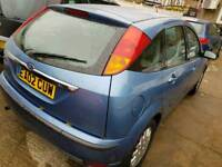Ford focus 2002 1 year MOT drives really good very reliable car CD player