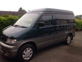 Mazda Bongo with new 12 months MOT, good condition, good runner