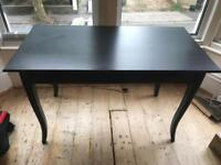 Black IKEA Desk (with drawer)