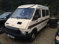 Renault Trafic Camper Project/Spares
