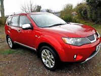 2008 mitubishi outlander 2.0 diesel 7 seater leather f\s\h\ jeep is like new rockford fosgate audio
