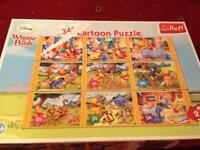 Winnie the Pooh picture puzzles
