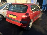 2001 PEUGEOT 206 GLX HDI (MANUAL DIESEL) FOR PARTS ONLY