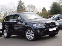 2010 60 BMW X5 3.0 XDRIVE30D M SPORT 5D AUTO DIESEL *PART EX WELCOME*FINANCE AVAILABLE*WARRANTY*
