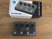 TC Electronic Ditto x 4 looper pedal