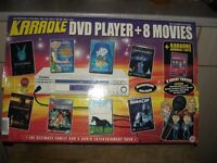 Prism DVD karaoke player and films