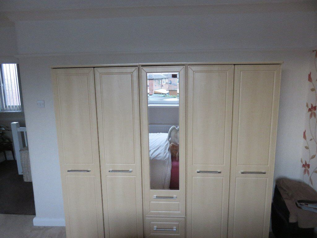 Wardrobe made by Harrison and Brothers of Oldham