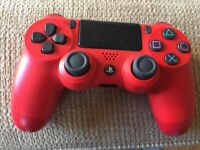 PS 4 dual shock 4 magma red controller