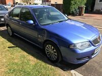 Rover 45 Club SE 1588cc Petrol 5 speed manual 5 door hatchback 06 Plate 28/03/2006 Blue