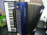 weltmeister 120 bass accordion musette tuned
