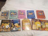 Simpsons season 1-10