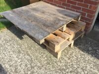 Wood Pallets Free to Collect