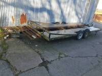 Twin axle car transporter trailer 2.5t