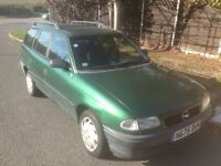 Vauxhall Astra estate left hand drive