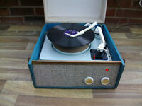 VINTAGE VALVE AUTOCHANGER RECORD PLAYER IN WORKING ORDER, FINAL REDUCTION NOW ONLY £65