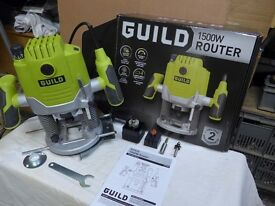 Router----Guild 1500 W as new