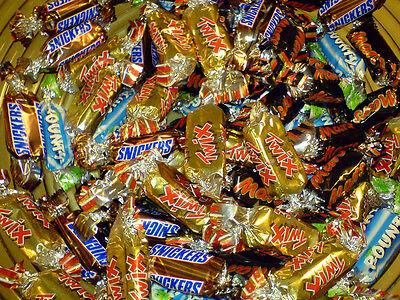 Snickers Bounty Twix Mars   Mini Chocolate Bites   Bulk Candy