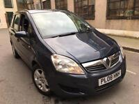Vauxhall Zafira 1.8 i 16v Exclusiv 2008 7 SEATS+HPI CLEAR+1 F OWNER