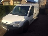 2003 Ford Transit Connect T200 75bhp 1.8 Tddi starts and drives No offers