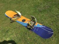 Burton snowboard & bindings