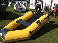 2.5M INFLATABLE WITH 2.5HP TOHATSU OUTBOARD