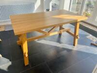 IKEA MÖCKELBY Oak Dining Table