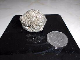 Fools gold mineral rock