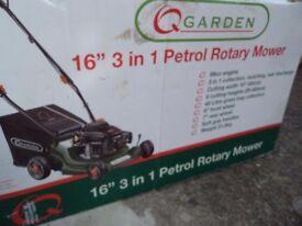 Petrol Lawnmower used once