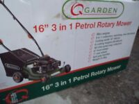 Petrol Lawnmower used once