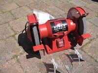 """Power Devil 6"""" bench grinder"""