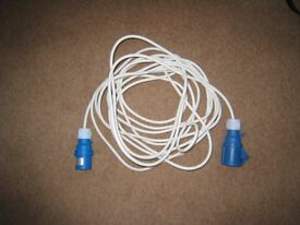 10 metre electric hook-up cable.