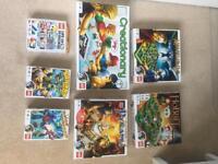 Lego game selection