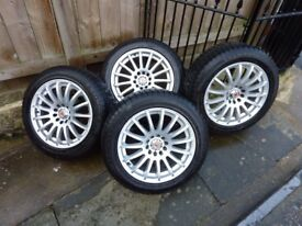 WINTER TYRES ON ALLOYS