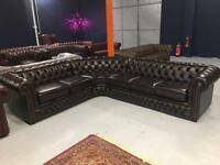 Brand New Exdisplay Chesterfield Corner Suite