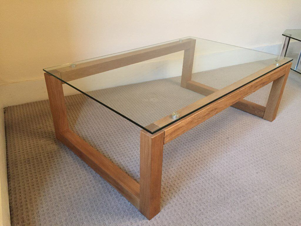 Next Brooklyn Oak Coffee Table And Side Tables