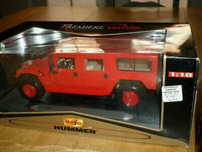 HULK HUMMER H2 SUV MARVEL Brand New In Unopened Box Maisto 36004 1:18 scale