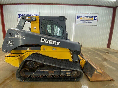 2018 John Deere 333g Cab With Ac And Heat